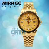 Spesifikasi Jam Tangan Wanita Original Mirage 001 Original Gold Murah Berkualitas