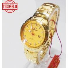 Jam Tangan Wanita Original Mirage 7415 BRP-L Original(Gold)