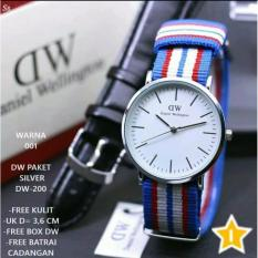 Spesifikasi Jam Tangan Wanita Paket D W 2 Tali Kain Kulit Lengkap Dengan Box Paket Dw Dan Harganya