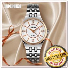 Jam Tangan Wanita SKMEI GOLDEN ROMA Original Exclusive Limited Edition Alexandre Christie MJ1133