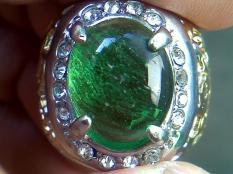 Jamrud Kalimantan Code B Ring Titanium