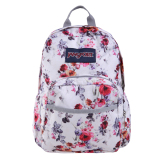 Review Jansport Half Pint Mini Backpack Floral Memory