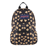 Jual Jansport Half Pint Mini Backpack Glitter Hearts Original