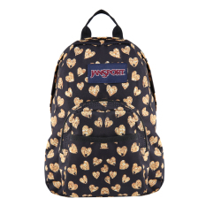 Jual Jansport Half Pint Mini Backpack Glitter Hearts Jansport Online