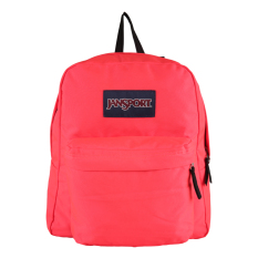 Harga Jansport Spring Break Fluorescent Red Baru