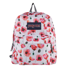 Beli Jansport Spring Break Multi Cali Poppy Dengan Kartu Kredit