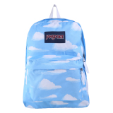 Review Jansport Superbreak Backpack Partly Cloudy Di Indonesia