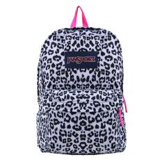 Beli Jansport Superbreak Backpack White Leopard Seken