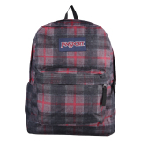 Review Jansport Superbreak Red Tape Knit Plaid Terbaru