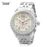 Harga Jaragar F1205163 Pria Automatic Mechanical Watch Tanggal Hari 24 Jam Tampilan Jam Tangan Intl Yg Bagus