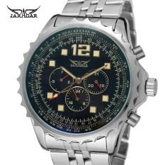 Jargar mannen Horloges Nieuwste Stijl Fashion Multifunctionele Automatische Beweging Beroemde Merk Horloges Kleur Zwart JAG6906M4 - intl