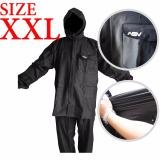 Harga Jas Hujan Asv Versi 1 Kualitas No 1 Karet Pvc Full Rubber Tebal Sistem Press Original Waterproof Raincoat Asv Hitam Ukuran Xxl New