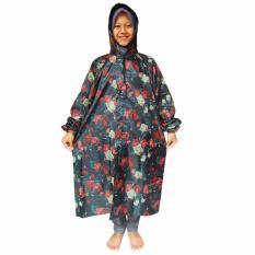 Jas Hujan Gamis Bahan Parasut Fl 07 No Brand Diskon 50