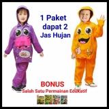 Promo Jas Hujan Jaket Celana Anak Kido Isi 2 Pcs Indoplast