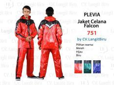 Jas Hujan Jaket Celana Plevia 751 FALCON Motor Cowok Pria Rain Coat