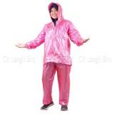 Diskon Jas Hujan Jaket Celana Polkadot 810 Plevia Stelan Raincoat Murah Plevia