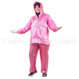 Harga Jas Hujan Jaket Celana Polkadot 810 Plevia Stelan Raincoat Murah Termurah