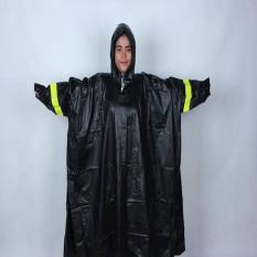 Promo Jas Hujan Mammoth Karet Pvc Anti Tembus Air Hujan Batman Ponco Kyk Asv