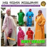 Harga Jas Hujan Muslimah Mantel Gamis Produsen New