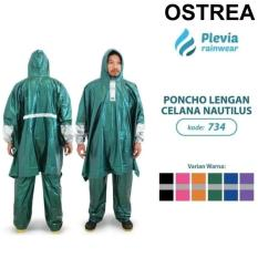 Jas Hujan Plevia 734 Poncho Lengan Celana Nautilus Jaket Anti Air