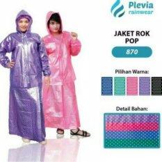 Ongkos Kirim Jas Hujan Plevia Wanita Muslimah Setelan Rok 870 Pink Di Dki Jakarta