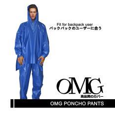 Jas Hujan Poncho celana jubah Celana Ponco Celana Tebal Bagus Trendy