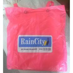 Review Toko Jas Hujan Raincity Stelan Jaket Celana Rain City Pink Online