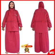 Jas Hujan Raincoat Rok Muslimah ACOLD