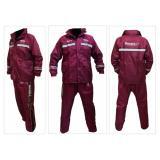 Spesifikasi Jas Hujan Rosida 882 Sporty Edition Merah Marun Yang Bagus Dan Murah