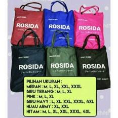 Jas Hujan Rosida Sporty type R882 Original ( ROSIDA R-882 SPORTY ) XXXL HITAM
