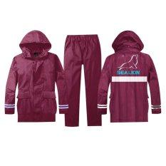 Harga Jas Hujan Sea Lion Jaket Celana B 01 Xl Maroon Murah