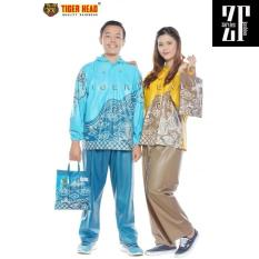 Jas Hujan Setelan Batik Mega Tiger Head Setara Axio Eiger Rei AD13