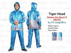 Jas Hujan Stelan The Best LT Tiger Head 68230 Rain Coat Setelan Celana