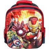Harga Jcf Avengers 3 Dimensi Timbul Import Tas Ransel Anak Sekolah Sd Original