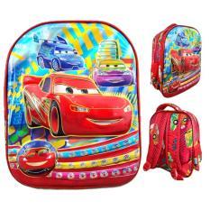 Beli Jcf Cars 6Dimensi Timbul Import Tas Ransel Anak Sekolah Tk Yang Bagus