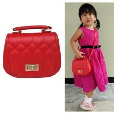 Harga Jcf Premium Tas Branded Anak Fashion Audrey Sling Bag Import Red Jcf