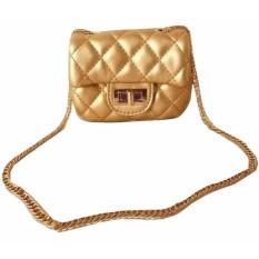 Spesifikasi Jcf Premium Tas Mini Elegan Branded Anak Dan Remaja Dewasa Fashion Channelly Sling Bag Import Gold Dan Harga