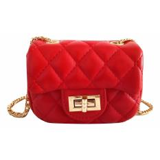 Jcf Premium Tas Mini Elegan Branded Anak Dan Remaja Dewasa Fashion Channelly Sling Bag Import Red Indonesia