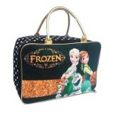 Jcf Tas Anak Fashion Travel Bag Kanvas Kotak Premium Frozen Black Gold Jcf Diskon