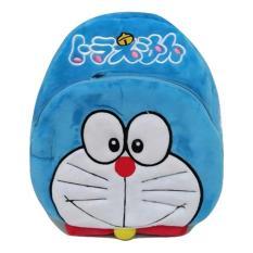 JCF Tas Anak Ransel Boneka 2 Restleting Import Yelvo Halus - Doraemon
