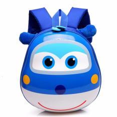 Review Jcf Tas Ransel Anak Sekolah Pg Playgroup Tk Import Telor Super Wings Blue Terbaru
