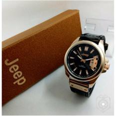 Jee.p - Jam tangan Pria - Model Casual Trendy - Leather Strap - Analog 2639a201b7