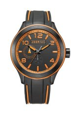 Jeep Spirit JEEP JPS80101 Analog Black Orange - Jam Tangan Pria