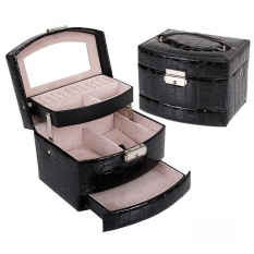 jewelry-cosmetics-organizer-box-crocodile-pu-leather-jewelrylipstick-functional-makeup-case-jewelry-travel-beauty-case-gift-boxblack-intl-8513-09271423-539a61f3fa51f53ce892567b5e6b5940-catalog_233 Review Harga Yt Lipstick And Leather Termurah untuk tahun ini