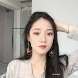 Promo Jewelry Retro Spar Alami Panjang Anting Anting Kupu Kupu Anting Anting Tiongkok
