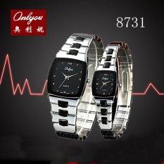 Beli Jfkd 3488 Fashion Waterproof Automatic Mechanical Stainless Steel Luxury Tourbillon Watch Mens Watches Gift Box Intl Kredit Tiongkok