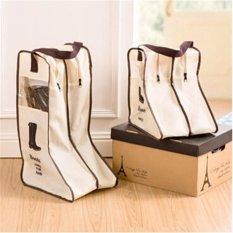 Ulasan Tentang Jingle 24 28 29 Boots Bepergian Tas Sepatu Rumah Jingle Boots Tas Penyimpanan Sepatu Tas Penyimpanan Visual Debu Intl