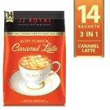 Jual Jj Royal Coffee Kopi Tubruk Caramel Latte Bulkbag 14 Sachets Jj Royal Coffe Original