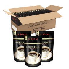 JJ Royal Coffee Kopi Tubruk 2in1 With Sugar inner (1 carton) @ 15 Inner