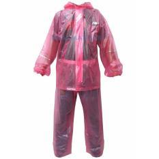 Miliki Segera Jm Jas Hujan Setelan Asv Gma Merah Muda